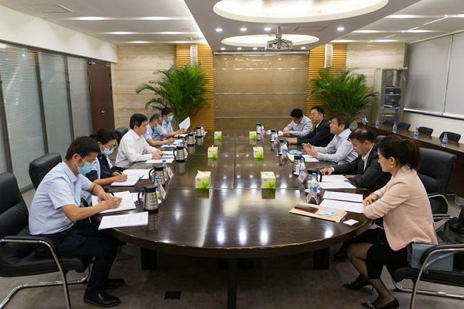 宋权礼、林展拜访全国社保基金理事会理事长刘伟